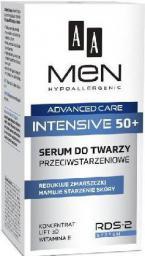 AA Cosmetics AA Men Adventure Care Serum do twarzy Intensive 50+ przeciwstarzeniowe  50ml - 055285