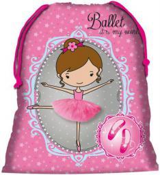 Derform Worek szkolny Baletnica różowy (207229)
