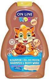 Forte Sweeden On Line Kids Szampon 2w1 Czekoladowe Ciasteczko  250ml