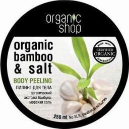 Organic Shop Peeling do ciała Tropikalny Bambus 250 ml
