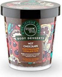 Organic Shop Body Desserts Peeling do ciała Rozgrzewający Hot Chocolate 450 ml