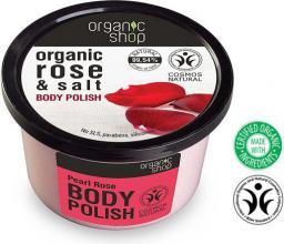 Organic Shop Peeling do ciała Perłowa Róża 250 ml