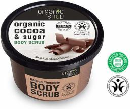 Organic Shop Peeling do ciała Belgijska Czekolada 250 ml