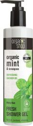 Organic Shop Żel pod prysznic Odświeżający Miętowy deszcz 280 ml
