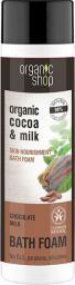 Organic Shop Płyn do kąpieli Odżywczy Mleczna czekolada BDIH 500ml