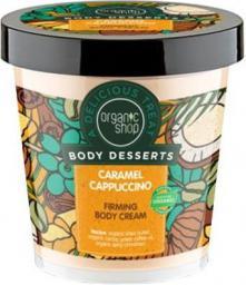 Organic Shop Body Desserts Krem do ciała ujędrniający Caramel Cappuccino 450 ml