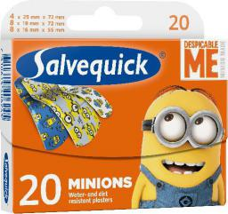 Salvequick  Plastry Minions dla dzieci  1 op.-20szt
