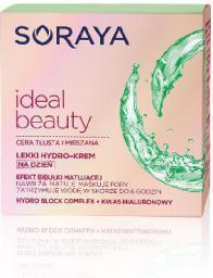 Soraya Ideal Beauty Lekki Hydro-krem matujący na dzień do cery tłustej i mieszanej 50ml