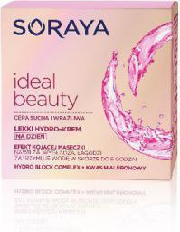 Soraya Ideal Beauty Lekki Hydro-krem kojący na dzień do cery suchej i wrażliwej 50ml