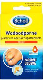 Scholl Problemy stóp Plastry na odciski wodoodporne  1 op-8szt - 649841