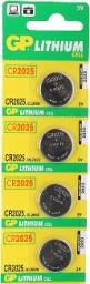 GP Bateria Cell CR2025 160mAh 4szt.