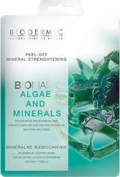 Biodermic  Bio Mask Maseczka na twarz Peel-Off Algi i Minerały 12g