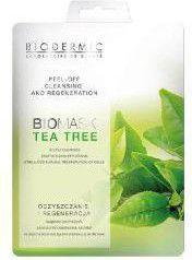 Biodermic  Bio Mask Maseczka na twarz Peel-Off Tea Tree 12g
