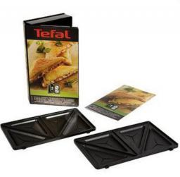 Tefal Płyty do opiekacza do trójkątnych kanapek tostowych + książka (XA800212)