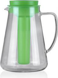 Dzbanek filtrujący Tescoma TEO 2.5 l, z wyjmowanym sitkiem i wkładem chłodzącym, zielony
