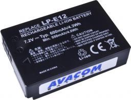 Akumulator Avacom Canon LP-E12 Li-Ion 7.4V,  600mAh,  4.3Wh (DICA-LP12-345)