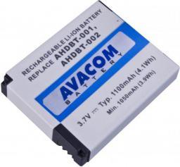 Akumulator Avacom do GoPro AHDBT-001, AHDBT-002,  Li-Ion 3.7V,  1100mAh 4.1Wh (VIGO-BT002-338)
