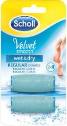 Scholl Rolki wymienne do Velvet Smooth Wet&Dry drobnoziarniste 2szt.