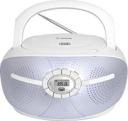 Radioodtwarzacz Trevi Boombox biały CMP 552 BT