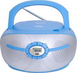 Radioodtwarzacz Trevi Boombox niebieski CMP 552 BT