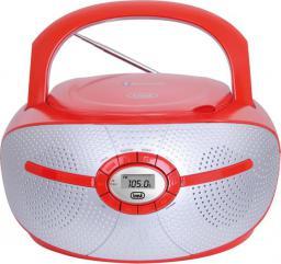 Radioodtwarzacz Trevi Boombox czerwony CMP 552 BT