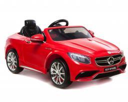 LEANToys Auto na akumulator Mercedes S63 AMG, Czerwony