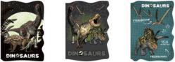 Derform Notes kształtowy A6 Dinozaur p15/45 DERFORM - DERF.DABVI13D
