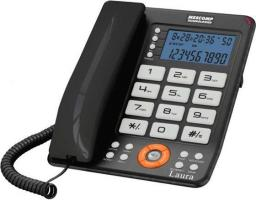 Telefon przewodowy Mescomp Laura MT-816 szary