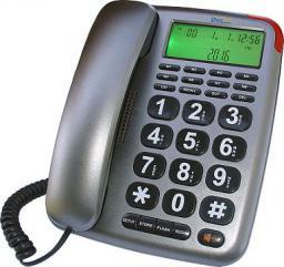 Telefon przewodowy Dartel LJ-290 grafit