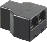 MicroConnect Adapter  RJ11 - 6P4C 1F - 2F (50597)