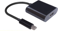 Kabel USB MicroConnect USB-C - HDMI Czarny (USB3.1CHDMI)