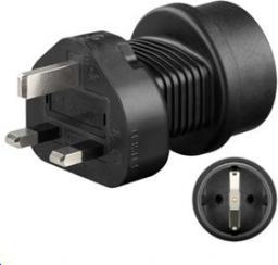 MicroConnect Universal adapter UK to Schuko (PETRAVEL1)