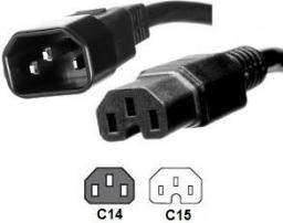 Kabel zasilający MicroConnect C14 - C15,  2m (PE011420)