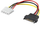 MicroConnect Adapter zasilania Sata  - Molex  (PI18041)