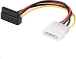 MicroConnect Adapter Molex  4pin - Sata 15pin,  0.13m (PI01081A)