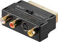 Adapter AV MicroConnect Scart - SVHS + 3x RCA (AVAPIQ)