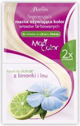Marion Mari Color Maska odżywiająca do włosów w odcieniu blond 2x20 ml