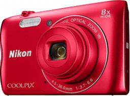 Aparat cyfrowy Nikon Coolpix A300 (Nikon A300 red)