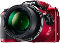 Aparat cyfrowy Nikon Coolpix B500, Czerwony (Nikon B500 red)