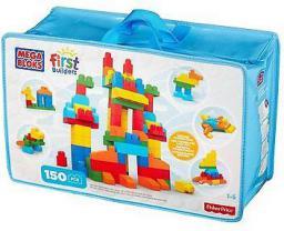 Mega Bloks Mega Bloks First Builders Deluxe Building Bag, 150 szt. - (CNM43)