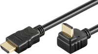 Kabel MicroConnect HDMI - HDMI 1.5m czarny (HDM19191.5V1.4A)
