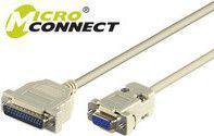 MicroConnect Kabel 9PIN-25PIN,   F/M, 0.25m (IBM038A)
