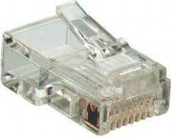 MicroConnect RJ45 MP8P8C Plug Cat6 UTP (KON520)
