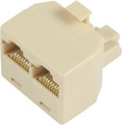 MicroConnect Y-ADAPTER RJ45-2xRJ45 M/F 8P (MPK400)
