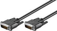 Kabel MicroConnect DVI-D - DVI-D 2m czarny (MONCC2)