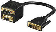 Kabel MicroConnect DVI-I D-Sub (VGA), Czarny (MONJK3)