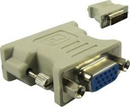 Adapter AV MicroConnect DVI-D - D-Sub (VGA) biały (MONCJ)