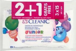 Cleanic Chust odświeżające Junior 2+1 (701995)