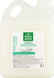 Biały Jeleń Mydło w płynie Kozie Mleko 2000ml - 2L