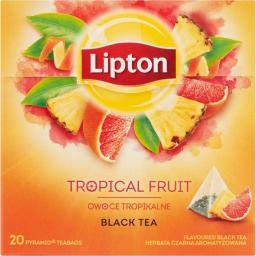 Lipton TROPICAL FRUIT 20 torebek